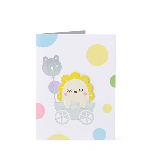 Bookmark Card New Baby