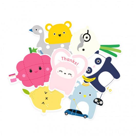 Friendship Stickers