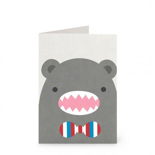 Riceroar - Greeting Card | Noodoll