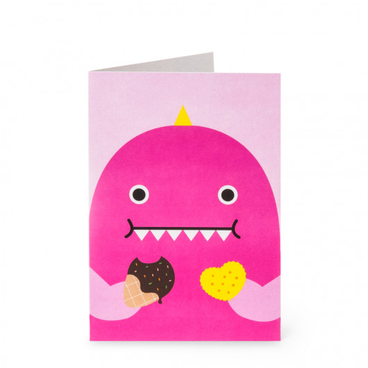 Miss Dino - Greeting Card | Noodoll