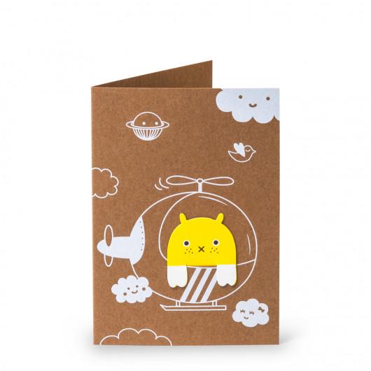 Happy Flying - Bookmark Card | Noodoll