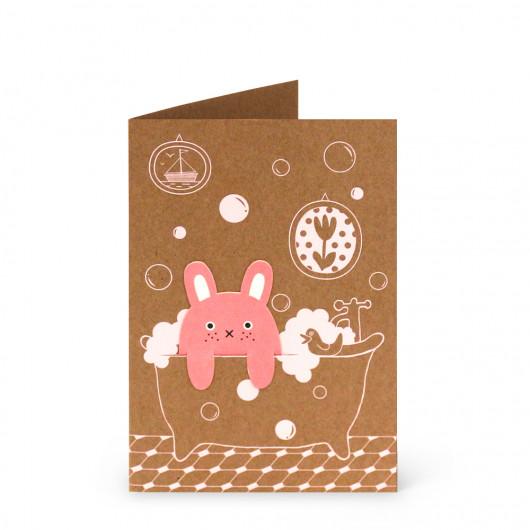 Bubble Bath - Bookmark Card | Noodoll