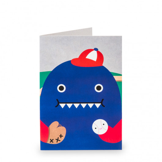 Dino Play Greeting Card