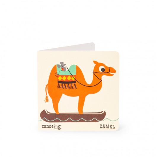 Camel - Alphabet Card | Noodoll