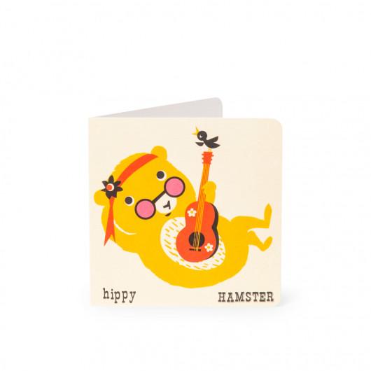 Hamster - Alphabet Card | Noodoll