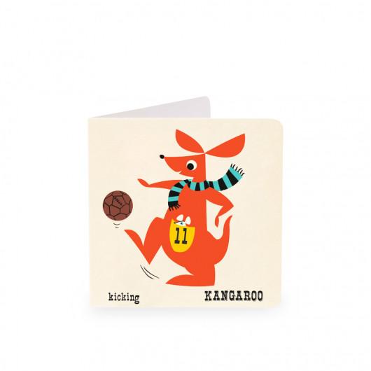Kangaroo - Alphabet Card | Noodoll