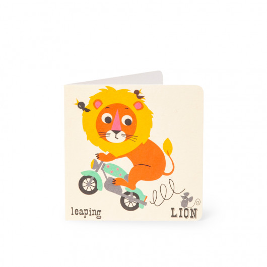 Lion - Alphabet Card | Noodoll