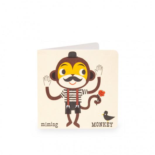 Monkey - Alphabet Card | Noodoll