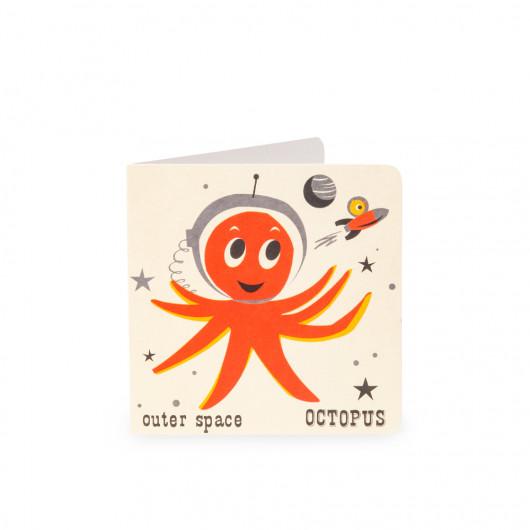 Octopus - Alphabet Card | Noodoll
