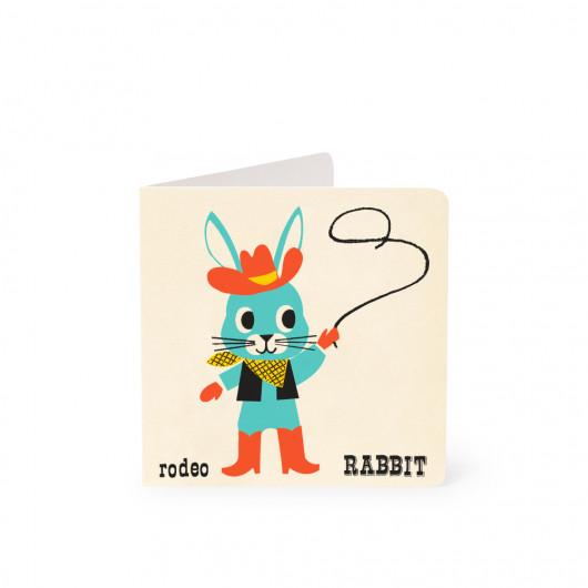 Rabbit - Alphabet Card | Noodoll