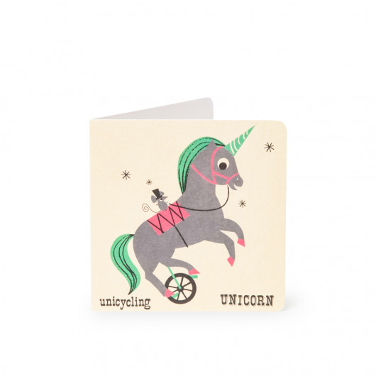 Unicorn - Alphabet Card | Noodoll