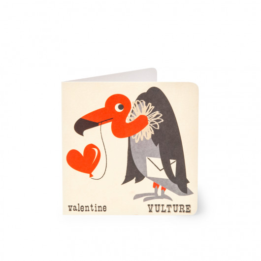 Vulture - Alphabet Card | Noodoll