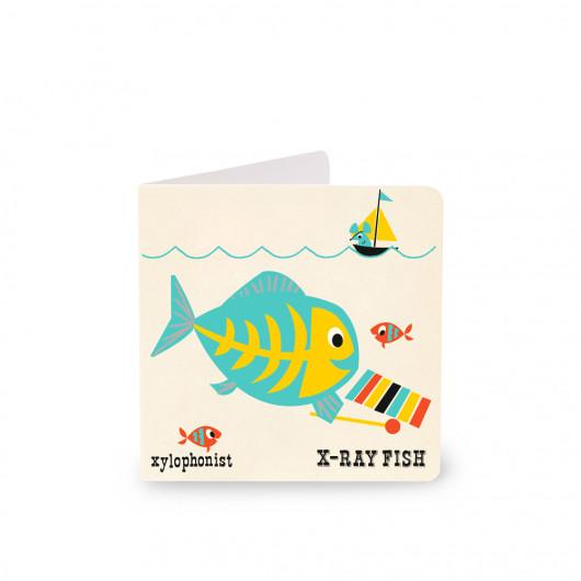 X-Ray Fish - Alphabet Card | Noodoll