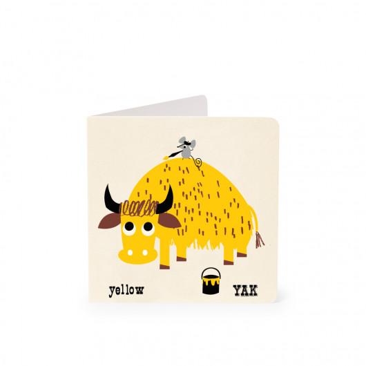 Yak - Alphabet Card | Noodoll