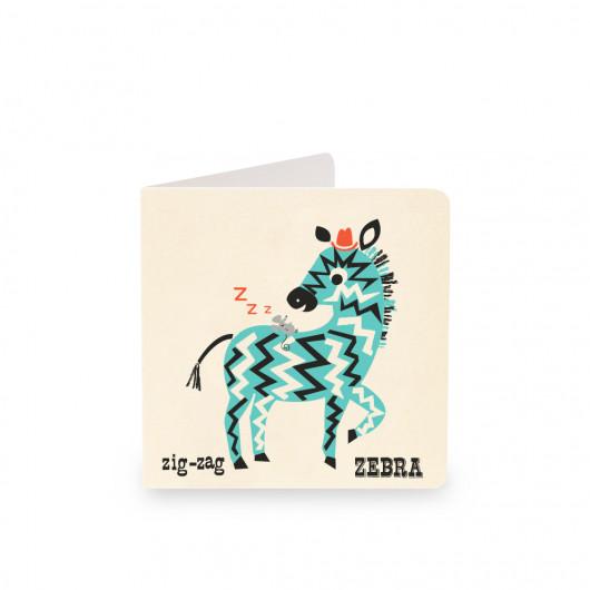Zebra - Alphabet Card | Noodoll
