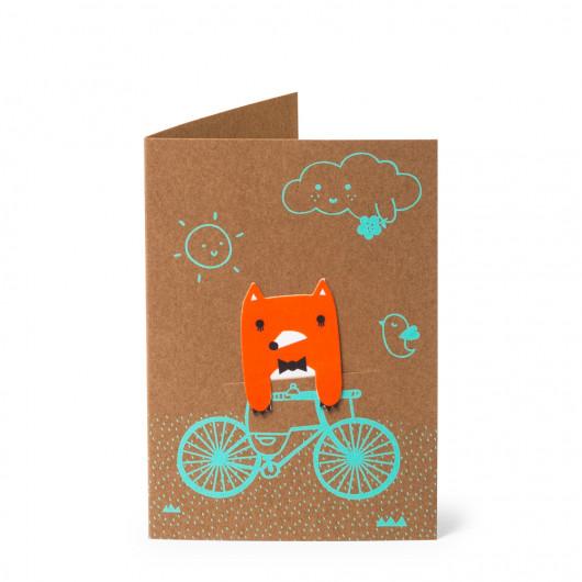 Bike Field - Bookmark Card   Noodoll