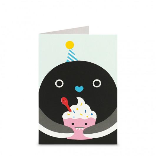 Ricekating - Greeting Card | Noodoll