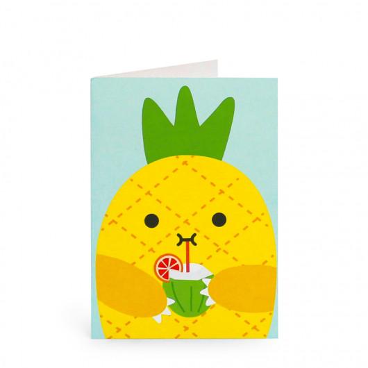Riceananas - Greeting Card | Noodoll