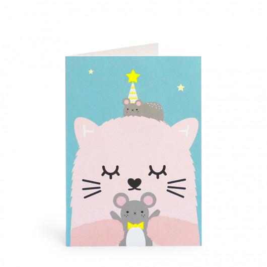 Ricemimi Greeting Card