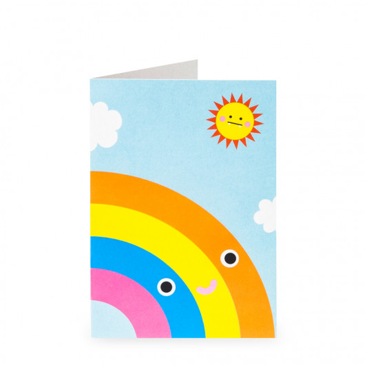 Rainbow - Greeting Card | Noodoll