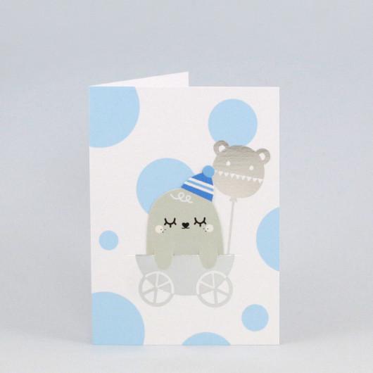 Bookmark Card Baby Boy