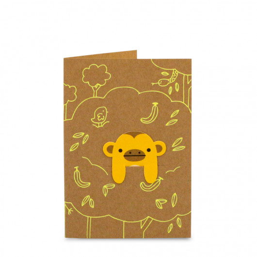 Jungle Fun - Bookmark Card | Noodoll
