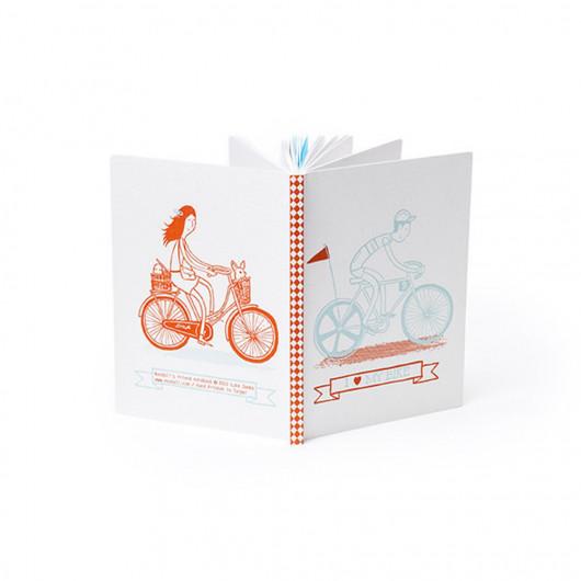 I Love My Bike Pocket Notebook