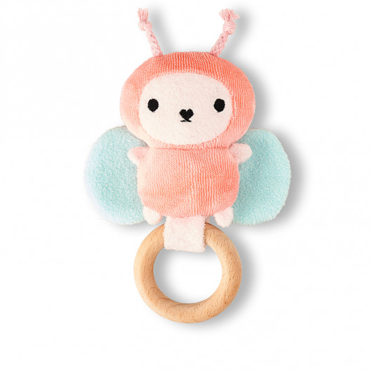 Ricebutter - Baby Ring Rattle | Noodoll