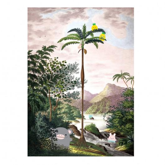 Noodoll x Jungle Scenery Print