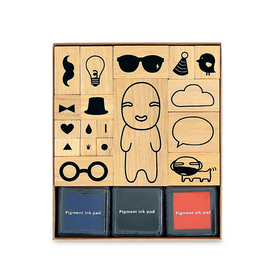 Play with Noodoll - Stamp Set | Noodoll