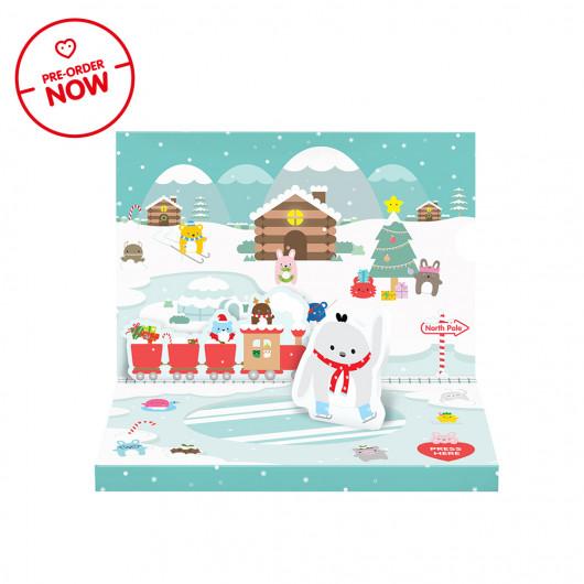 PREORDER Music Box Christmas Card