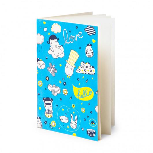 Noodle Town - Pocket Notebook | Noodoll