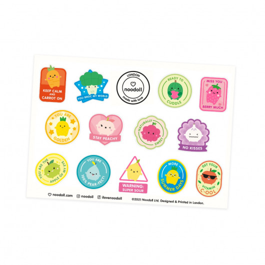 Fruit & Veg Stickers