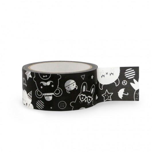 Black - Paper Tape | Noodoll