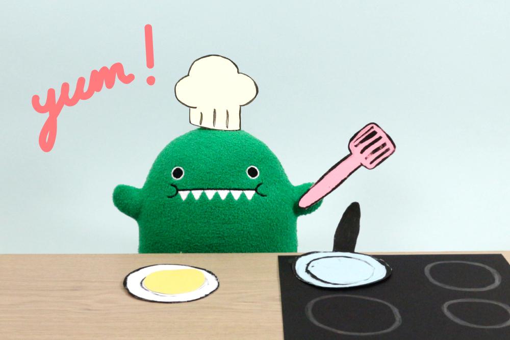 Make Pancakes with Dino!