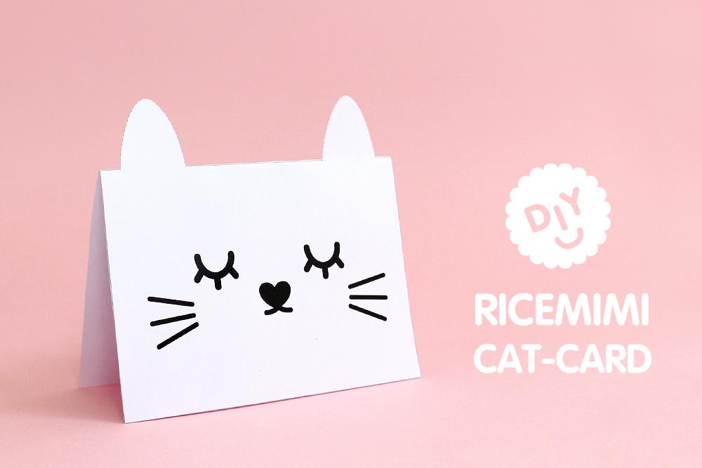 DIY Ricemimi Greeting Card