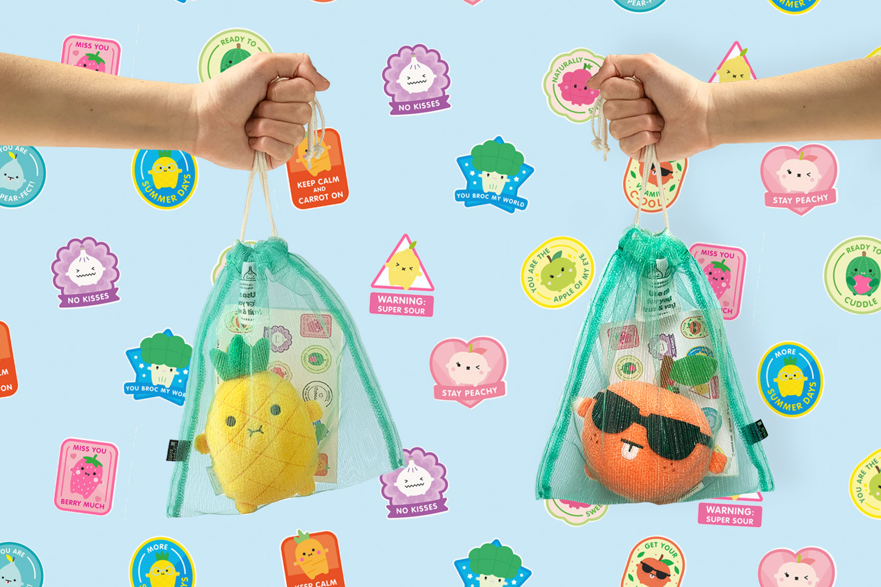 10 fun ways to use Noodoll fruit stickers
